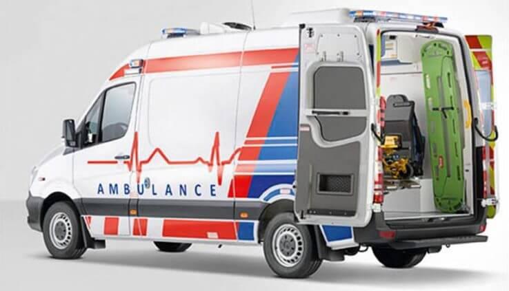 آمبولانس خصوصی - اعزام آمبولانس به منزل - اعزام آمبولانس به محل